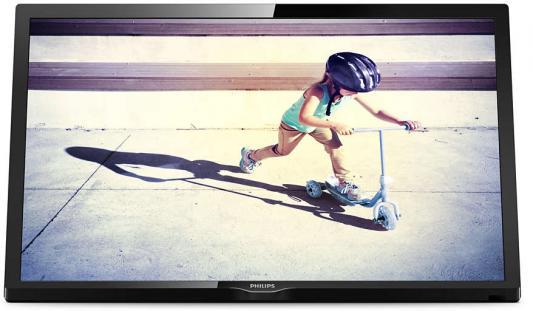 Телевизор Philips 22PFS4022/60 черный цена и фото