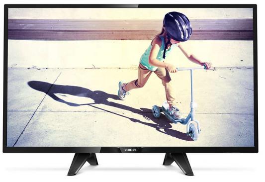 Телевизор Philips 32PHS4132/60 черный цена и фото