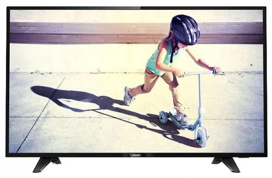 Телевизор LED Philips 43 43PFT4132/60 черный/FULL HD/60Hz/DVB-T/DVB-T2/DVB-C/USB (RUS) телевизор philips 32pht4100 60 hd pmr 100 черный