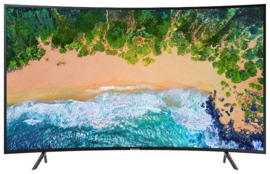 Телевизор Samsung UE65NU7300UXRU черный цена и фото