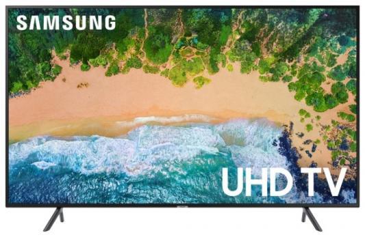 Телевизор Samsung UE55NU7100UXRU черный телевизор samsung ue43nu7400uxru черный