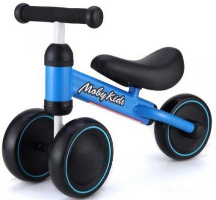 Беговел Moby Kids KidBike синий 641160