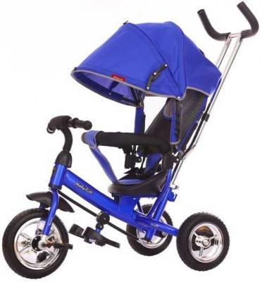 Велосипед Moby Kids Start 10x8 EVA 10/8 синий 641045 велосипед moby kids junior 2 10 8 красный t300 2