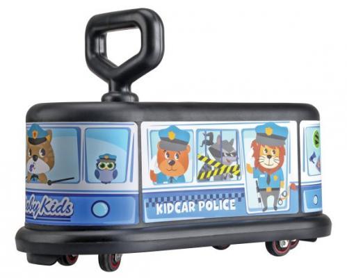 Каталка Moby Kids KidCar полиция синий от 3 лет пластик 49459 мир деревянных игрушек конструктор каталка полиция