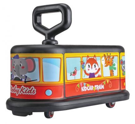 Каталка Moby Kids KidCar автобус разноцветный от 3 лет пластик 49460