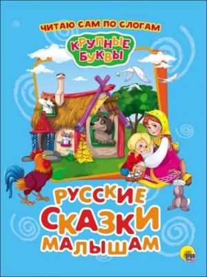 цена Книжка Читаю сам по слогам Русские сказки малышам