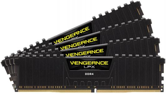 Оперативная память 64Gb (4x16Gb) PC4-24000 3000MHz DDR4 DIMM CL16 Corsair CMK64GX4M4D3000C16