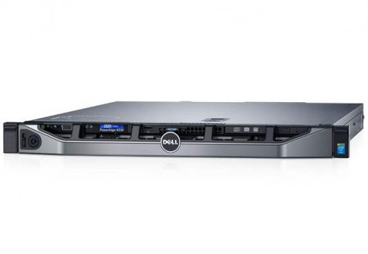 "Сервер Dell PowerEdge R330 1xE3-1220v6 1x8Gb 1RUD x4 1x1Tb 7.2K 3.5"" SATA RW H330 iD8Ex 1G 2P 1x350W 3Y NBD (210-AFEV-94) сервер dell poweredge t330 1xe3 1225v6 1x8gb 2rud x8 1x1 2tb 10k 2 5in3 5 sas rw h330 id8ex pc 5720"