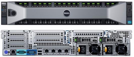 Сервер Dell PowerEdge R730 2xE5-2620v4 24x16Gb 2RRD x8 3.5 RW H730 iD8En 5720 4P 2x750W 3Y PNBD TPM (210-ACXU-304)