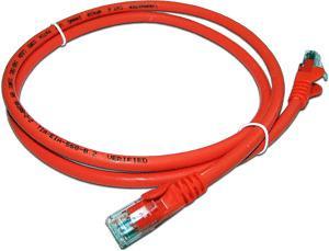Патч-корд RJ45 - RJ45, 4 пары, UTP, категория 6, 5 м, оранжевый, LSZH, LANMASTER цена и фото