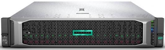 Сервер HPE ProLiant DL385 Gen10 1x7251 1x16Gb 2.5/3.5 E208i-a 1x500W 3-3-3 (878712-B21) сервер hpe proliant dl380 gen10 1x3106 1x16gb x8 2 5 sas s100i 1x500w 3 3 3 826564 b21