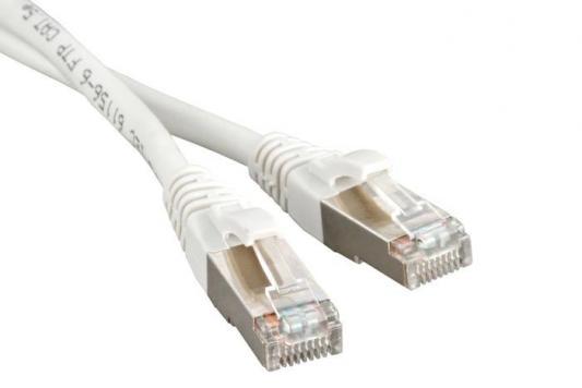 Патч-корд RJ45 - RJ45, 4 пары, FTP, категория 5е, 2 м, белый, LSZH, LANMASTER LAN-PC45/S5E-2.0-WH rj45 network internet lan connector adapter extender injector for mini dual interfaces