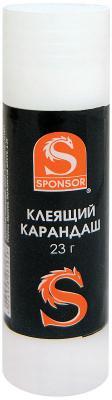 Клей-карандаш SPONSOR SGS23 23 гр. клей карандаш глобус школьник 10 гр
