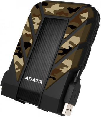 Жесткий диск A-Data USB 3.1 2Tb AHD710MP-2TU31-CCF HD710M Pro DashDrive Durable 2.5 черный/зеленый цена