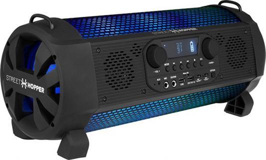 Аудиомагнитола Soundstream Hooper SH-5PM черный 30Вт/MP3/FM(dig)/USB/BT/microSD твитер вч динамик soundstream twt 2