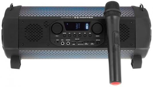 Аудиомагнитола Soundstream Hooper SH-6PM черный 30Вт/MP3/FM(dig)/USB/BT/microSD soundstream p2 150