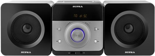Микросистема Supra SMC-27D черный 50Вт/CD/CDRW/DVD/DVDRW/FM/USB/BT chunji 150ml