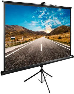 Картинка для Экран напольный рулонный Cactus CS-PSTE-160X160-BK 160 x 160 см