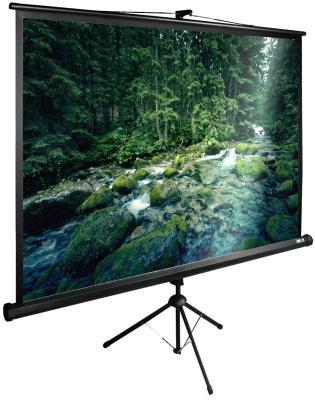все цены на Экран напольный рулонный Cactus CS-PSTE-220Х165-BK 165 x 220 см онлайн
