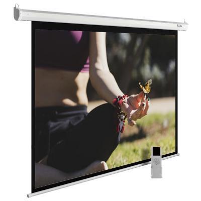 лучшая цена Экран Cactus 200x200см MotoExpert CS-PSME-200x200-WT 1:1 настенно-потолочный рулонный белый (моторизованный привод)