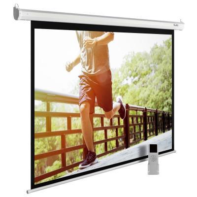 лучшая цена Экран Cactus 175x280см MotoExpert CS-PSME-280x175-WT 16:10 настенно-потолочный рулонный белый (моторизованный привод)