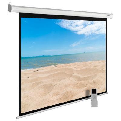 Картинка для Экран Cactus 180x240см MotoExpert CS-PSME-240x180-WT 4:3 настенно-потолочный рулонный белый (моторизованный привод)