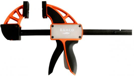 Струбцина BAHCO QCB-900 быстрозажимная max. мощность 200кг одним нажатием зев при зажиме 900мм быстрозажимная струбцина irwin 36 900мм
