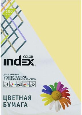 Цветная бумага Index Color IC54/100 A4 100 листов цветная бумага index color a4 100 листов icmixpastel 4х25 100