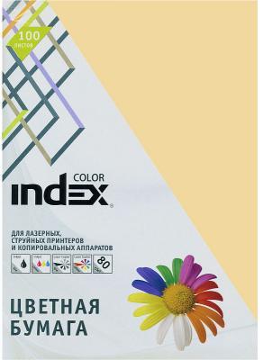 Цветная бумага Index Color IC16/100 A4 100 листов песочны цветная бумага index color a4 100 листов icmixpastel 4х25 100