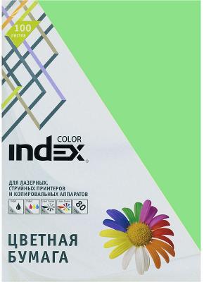 Цветная бумага Index Color IC69/100 A4 100 листов фисташковый цветная бумага index color a4 100 листов icmixpastel 4х25 100