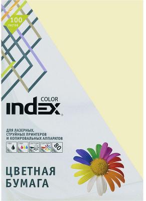 Цветная бумага Index Color IC12/100 A4 100 листов ваниль цветная бумага index color a4 100 листов icmixpastel 4х25 100