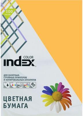 Цветная бумага Index Color IC48/100 A4 100 листов цветная бумага index color a4 100 листов icmixpastel 4х25 100