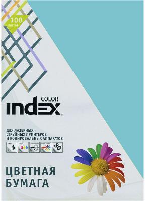 Цветная бумага Index Color IC75/100 A4 100 листов бумага kris creative color a4 80g m2 100 листов pastel multicolor 110499