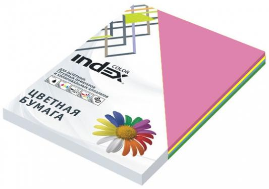 Цветная бумага Index Color ICmixintensiv/5x50/250 A4 250 листов цены онлайн