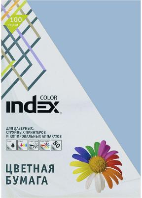 Цветная бумага Index Color IC88/100 A4 100 листов бумага maestro color pale a4 80g m2 100л blue mb30 102474