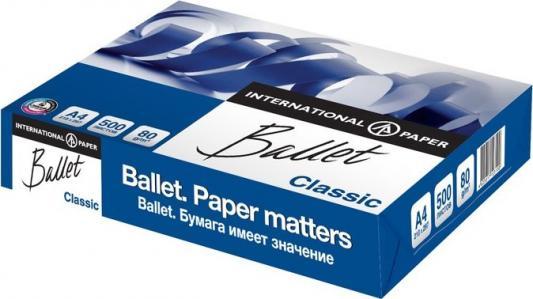 Бумага BALLET CLASSIC, ф. А4, белизна 153% CIE, яркость 96 %, 80 г/м2, 500 л.|1 бумага svetocopy а4 500 л