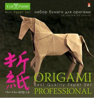 Бумага для оригами Альт Набор для ОРИГАМИ 10x10 см 30 листов 11-30-181 набор альт набор для оригами всплеск цвета 20 20 11 07 180 3