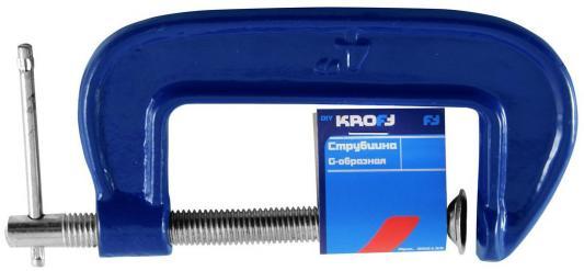 Струбцина KROFT 202132 тип G 75мм струбцина kroft 75mm 202132