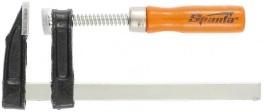 Струбцина SPARTA 204235 F-образная 50х150мм струбцина stayer f образная 50х250мм 3210 050 250
