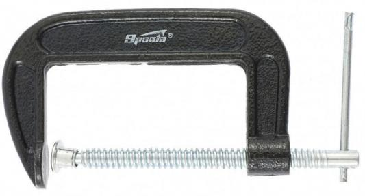 Струбцина SPARTA 206565 G-образная 100мм adjustable wrench sparta 155405