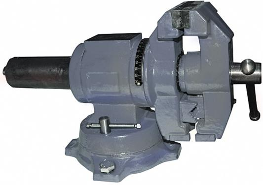 Тиски ЭНКОР 20088 слесарные цилиндр повор 100мм наков тиски энкор 23473