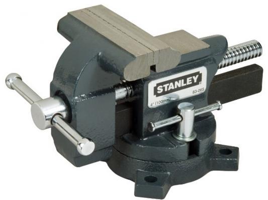 Тиски STANLEY MaxSteel 1-83-065 для небольшой нагрузки глуб. 89мм раскр. 100мм струбцина stanley maxsteel 75 мм 0 83 033