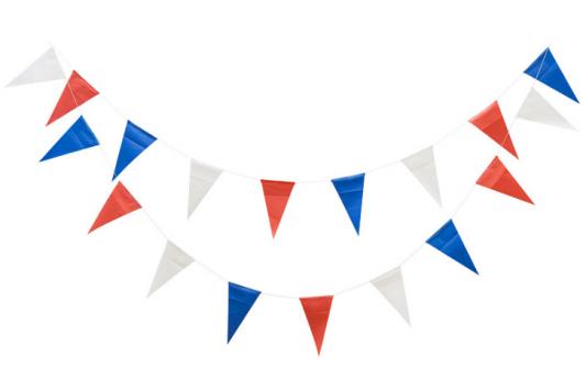 Купить Гирлянда Action! Флажки Триколор 360 см, Атрибуты для праздника