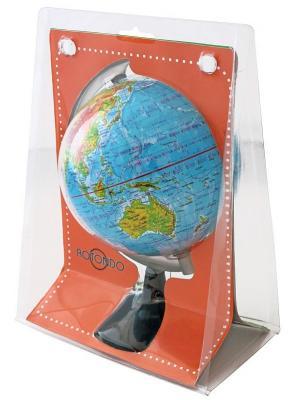 Купить Глобус, 10.6 см, в блистерной упаковке, Rotondo, Пластик, Для всех, Глобусы