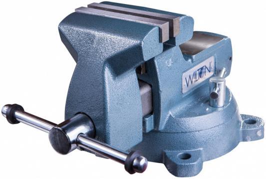 Тиски WILTON Механик 745 для верстака 21400EV поворотные слесарные тиски wilton механик 746 wi21500