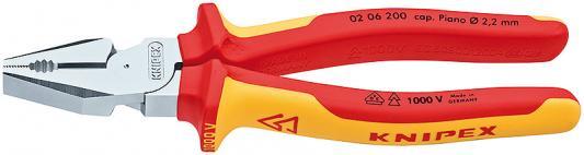 Плоскогубцы KNIPEX KN-0206200 силовые 1000 V цены онлайн