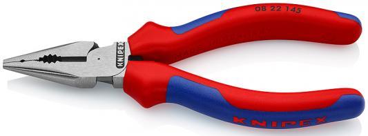 Плоскогубцы KNIPEX KN-0822145 пассатижи удлиненные фосфатированные 145 mm бокорезы knipex kn 1426160