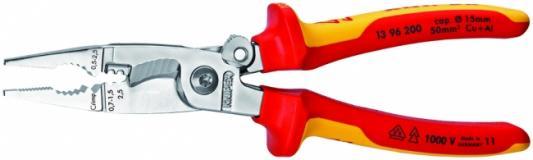 Плоскогубцы KNIPEX KN-1396200 универсальные хром стриппер knipex kn 1221180