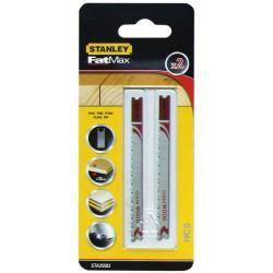 Пилки для лобзика STANLEY STA21042-XJ  T 101 AO 2 шт по ламинату HCS