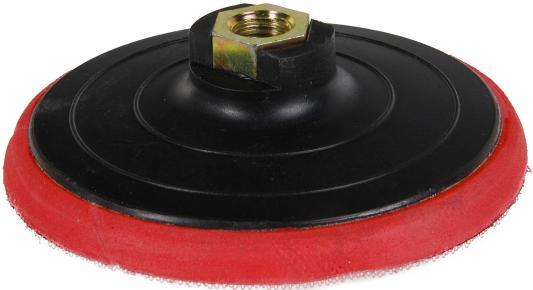 Тарелка опорная ПРАКТИКА 038-531 125мм, для УШМ (M14), крепление VELCRO аккумулятор для электроинструмента практика 038 807